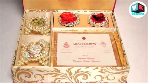 Mukesh Ambani's son Akash Ambani wedding card mukesh