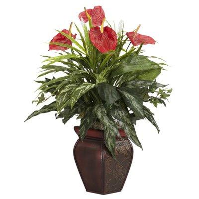 Red Faux Plants | Wayfair