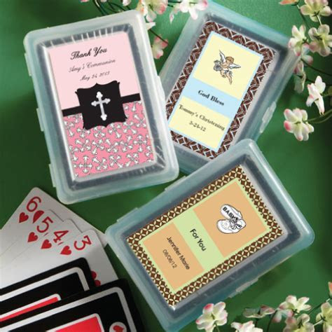 Design Your Own Playing Card Wedding Favors