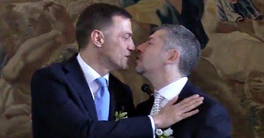 Risultati immagini per nozze scalfarotto  pd