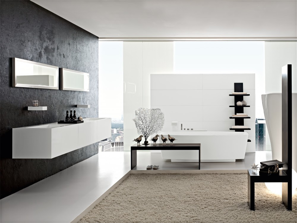 1 Modern bathroom