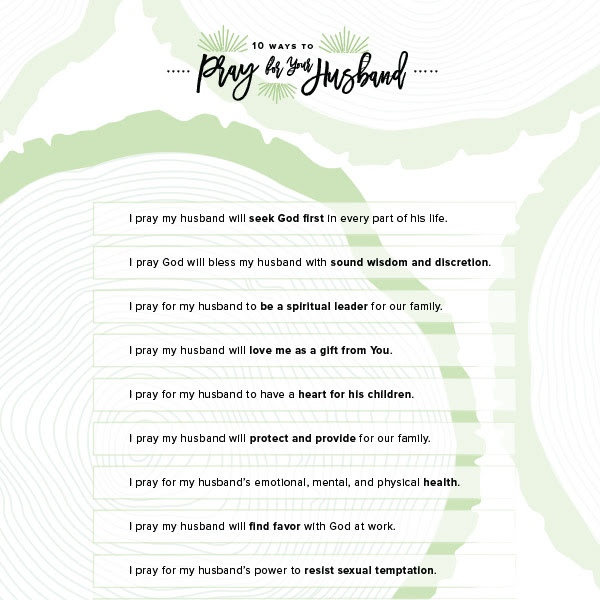 99 Reasons To Be Thankful For Your Husband