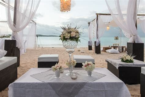 A Picture Perfect White Wedding at Jumby Bay