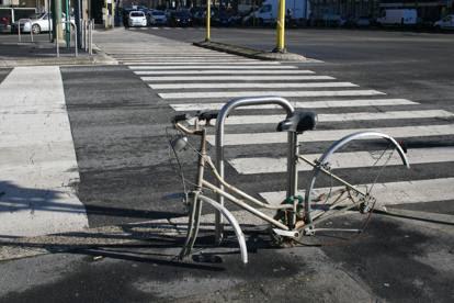Bici abbandonate, il recupero