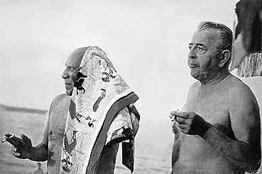 Prévert y Picasso en la Costa Azul