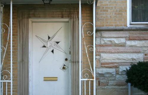 Mid-Century door