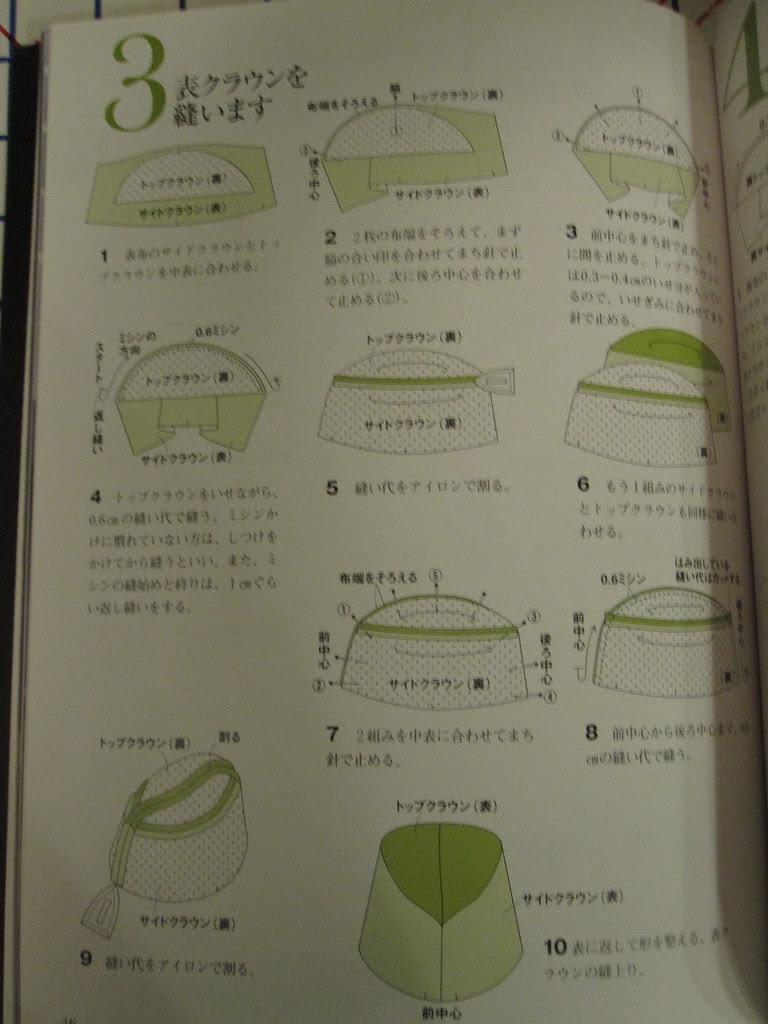 Instruction sheet in Stylish Cloche