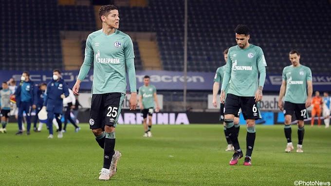 Het onvermijdelijke is gebeurd: Schalke zakt na barslecht seizoen uit Bundesliga