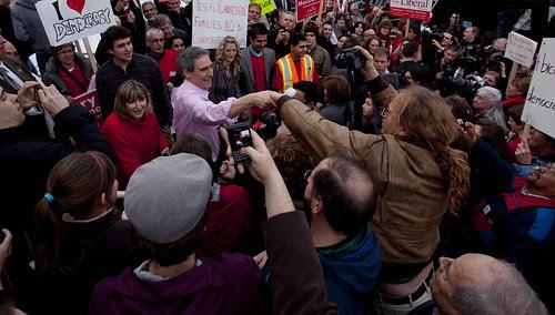 Rally in Edmonton // Ralliement à Edmonton