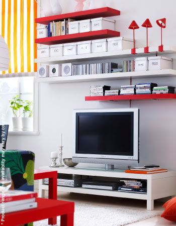 IKEA - Lack Shelves