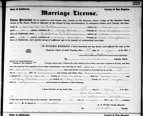 Schumm Schinnerer California Wedding, 1901 » Karen's Chatt