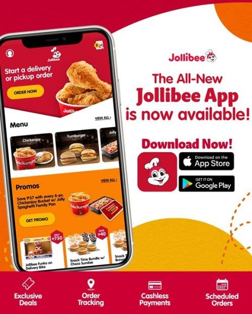 The All-New Jollibee App is here! Download now to order your Jollibee favorites and enjoy exciting features