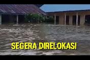 VIDEO: Kondisi Sekolah SD SMP Satu Atap Desa Tanah Garo Pasca Terendam Banjir