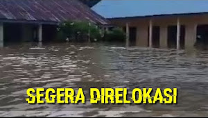 VIDEO: kondisi SD SMP di Tebo Pasca Terendam Banjir