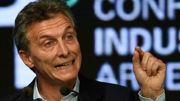 El presidente de Argentina, Mauricio Macri, aparece en dos sociedades offshore reveladas en los documentos de