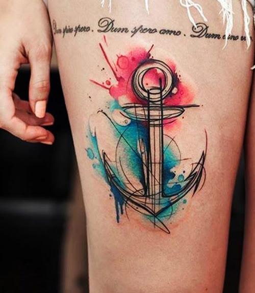 67 Tatuajes De Anclas Y Sus Significados Tatuajes Geniales