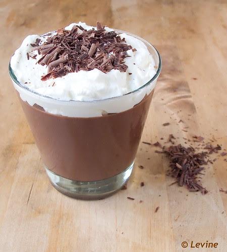 Melkchocolade pudding