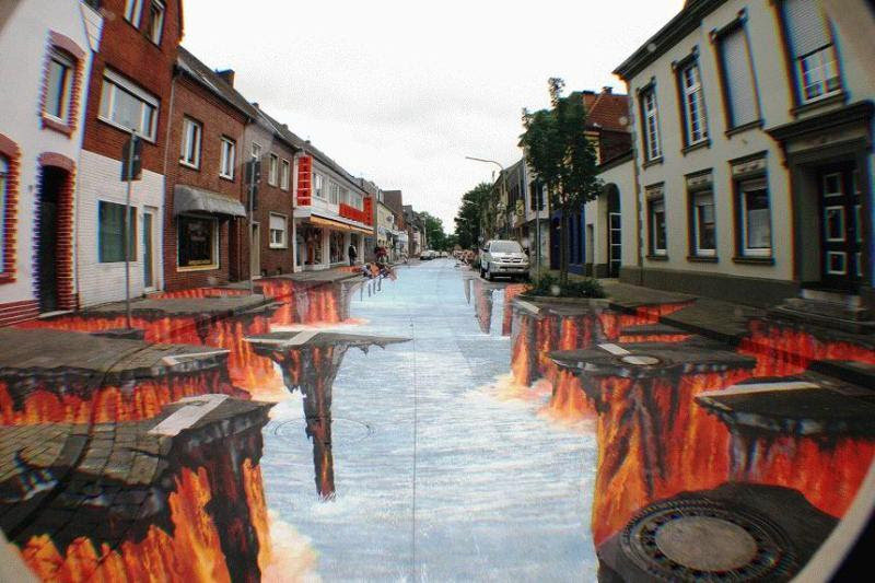 1g3I1 The Incredible World Of 3D Street Art