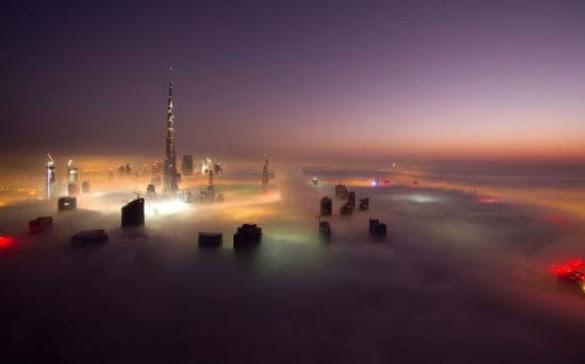 Όταν η ομίχλη σκεπάζει το Dubai (15)