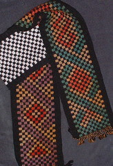 painted woven fabric