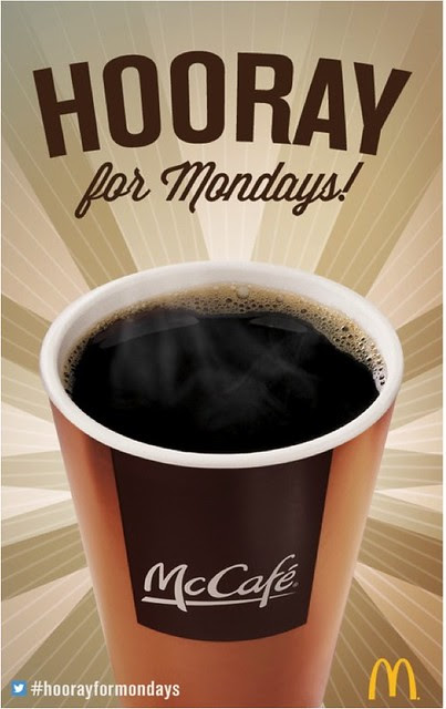 Hooray For Mondays - Coupon Front