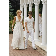 Blake Lively (Serena) White Chiffon Prom Dress Gossip Girl