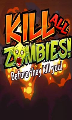 Screenshots of the Kill all zombies! for Android tablet, phone.