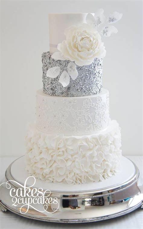 trending wedding cakes  pink canaries