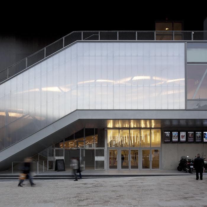 Photographie Darchitecture Cinéma Etoile Lilas à Paris