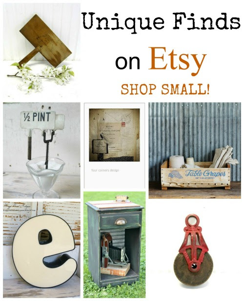 Shop Small on Etsy