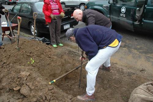 Measuring depth