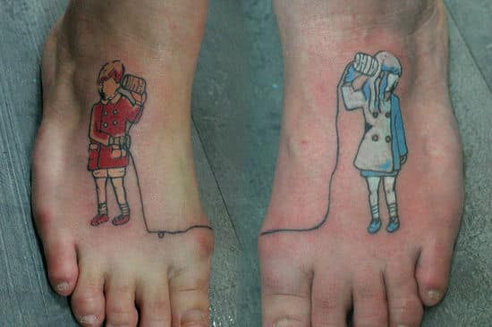 Foot Tattoos For Men Design Ideas For Guys
