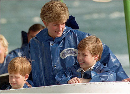 prince william and prince harry at diana. Source: supportprinceharry