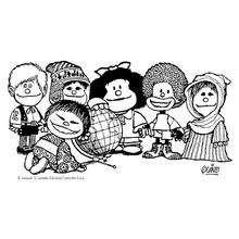 Coloriage Mafalda Coloriages Coloriage à Imprimer Gratuit Fr