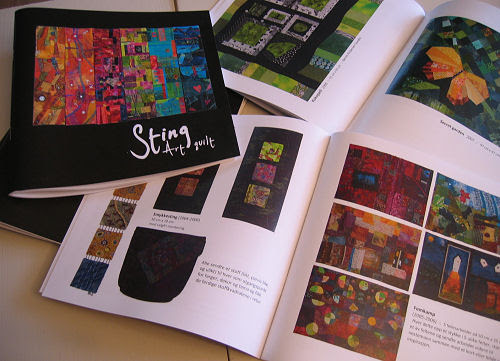 inside the book: lots of quilts :: inni boka er det jo massevis av spennende quilter