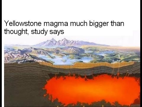 yellowstone magma