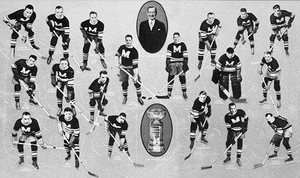 1934-35 Montreal Maroons team, 1934-35 Montreal Maroons team