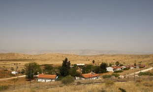 A settlement in the Jordan Valley [illustrative]