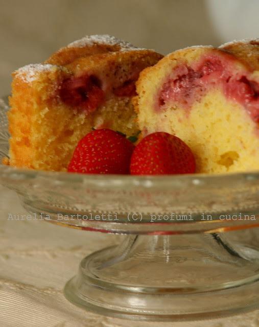 torta morbida alle fragole 4