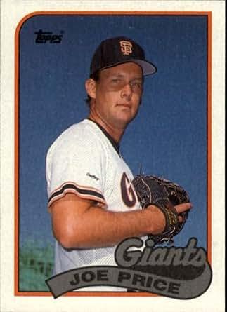 Amazon.com: 1989 Topps Baseball Card #217 Joe Price: Collectibles & Fine Art