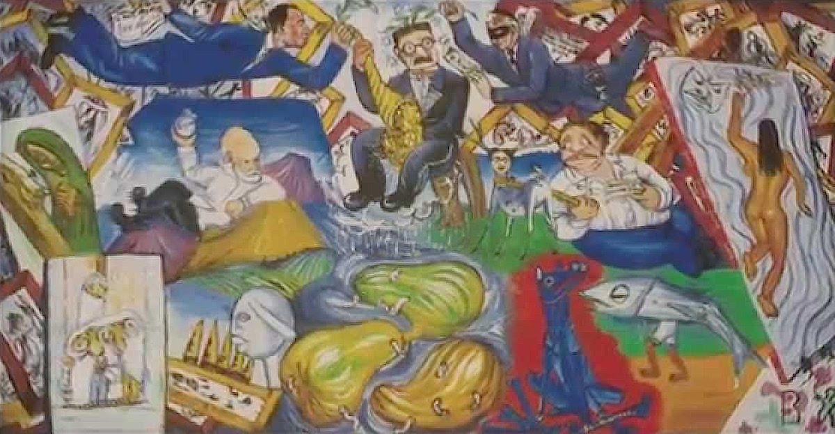 Diego Rivera Murales Bellas Artes