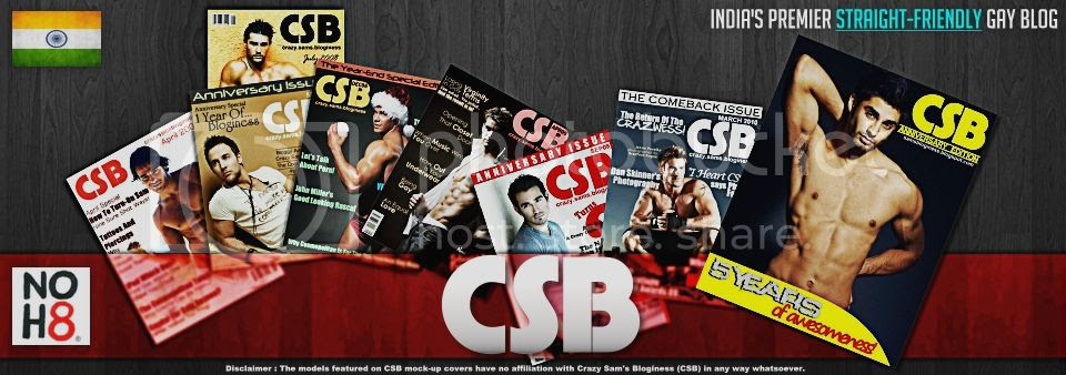 CSB : India's Premier Straight - Friendly Gay Blog