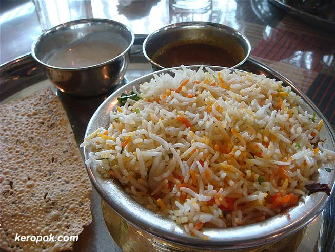 Nasi Briyani Set