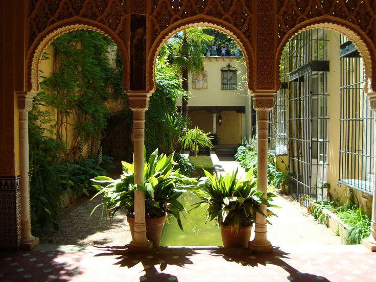 Un paseo por el Carmen de los Mártires #Granada #Spain