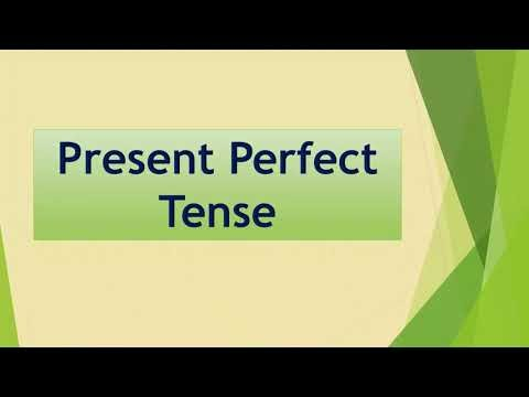 5th Std - Term2 - English - Unit 1 - Present perfect tense