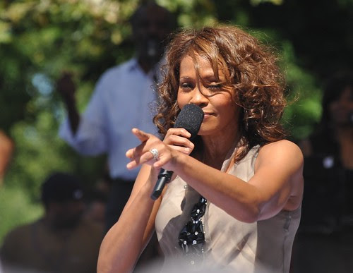 Whitney Houston -  Concert in Central Park   /  Good Morning America 2009    -     Manhattan NYC