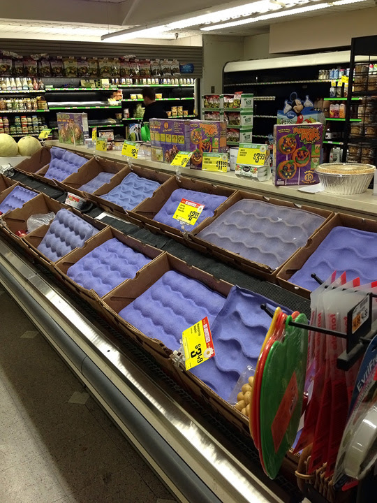 No Apples, after Hurricane Sandy