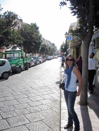 Streets of Lipari, Seabourn Legend Itinerary