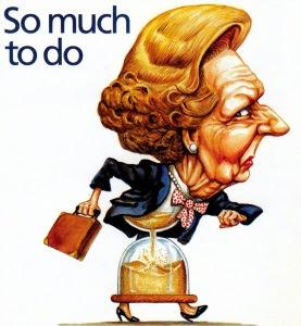 Margaret Thatcher har mer att göra
