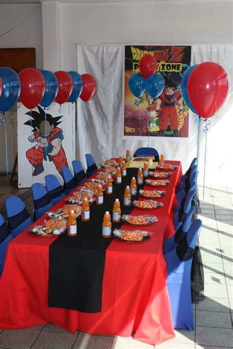 Dragonball Z party   Dragonball Z Birthday Party Ideas